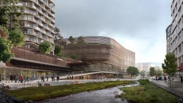 Projekt zabudowy dzielnicy Nygardstangen w Bergen