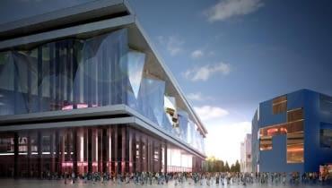 Projekt stadionu w Kaliningradzie na Mistrzostwa Świata w Piłce Nożnej w 2018 roku