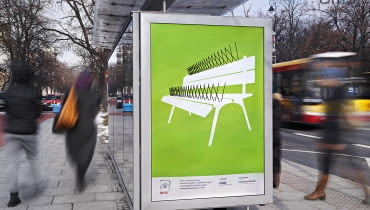 Plakaty w Warszawie