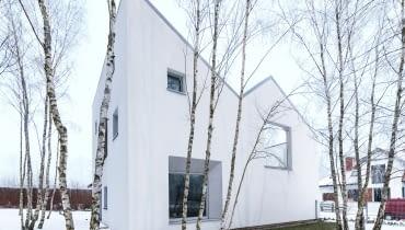 SunGarden - jednorodzinny dom w Poznaniu, projekt: menthol architects