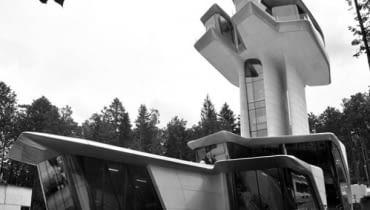 W podmoskiewskiej Barwice powstała wyjątkowa willa zaprojektowana przez Zahę Hadid