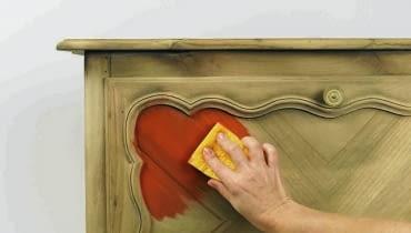 malowanie mebli z płyty