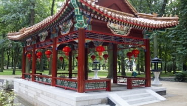 Pawilon chiński w Łazienkach Królewskich