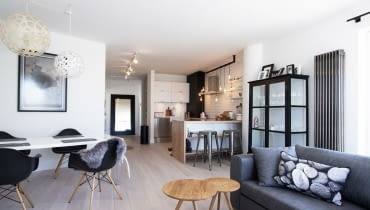 mieszkanie, mieszkanie w skandynawskim stylu, jasne mieszkanie, nowoczesne mieszkanie