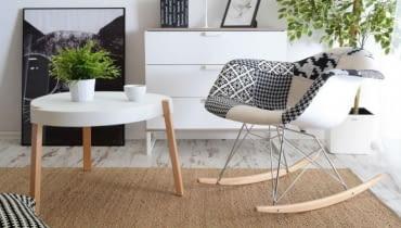 Wielki powrót bujanych foteli - ładne i nowoczesne