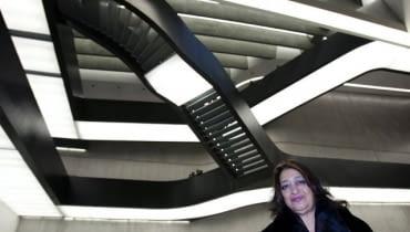 MAXXI Muzeum Sztuki i Architektury w Rzymie autorstwa Zahy Hadid