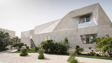 Rock House w Kuwejcie projektu AGi Architects