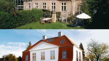stary dach, naprawa dachu, duży dom, dom jednorodzinny, remont dachu