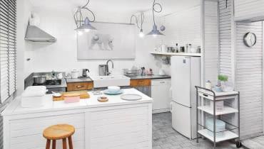Meble kuchenne, biała kuchnia