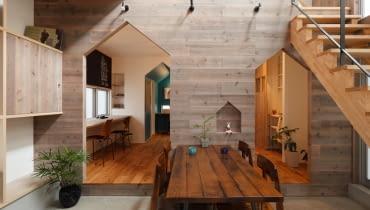 dom, dom jednorodzinny, dom w Japonii, japoński design