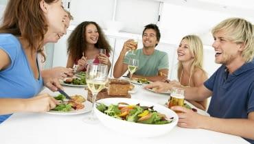 krzesła, stoły, aranżacja wnętrz, jadalnia