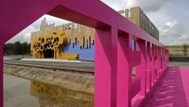 kolorowa architektura, holandia, FAT