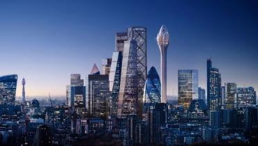 The Tulip w Londynie proj. Foster + Partners