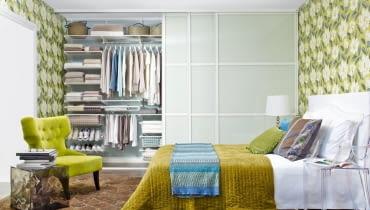 Garderoba, szafa do zabudowy, sypialnia