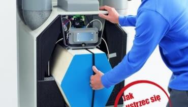 Jednym z sygnałów, że należy wezwać autoryzowany serwis do wyczyszczenia wymiennika ciepła w rekuperatorze, jest jego głośna praca