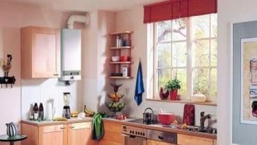 Dzięki mniejszym obudowom i estetycznemu wyglądowi nowe termy bez wstydu można zamontować w nowej kuchni.