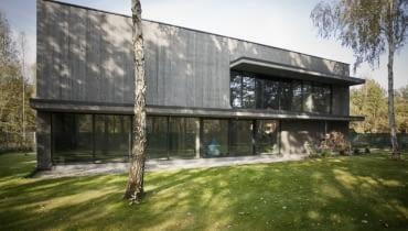 Betonowy dom pod Warszawą