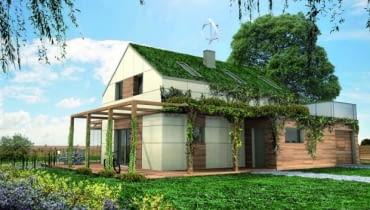 dom energooszczędny, dom autonomiczny, projekty domów