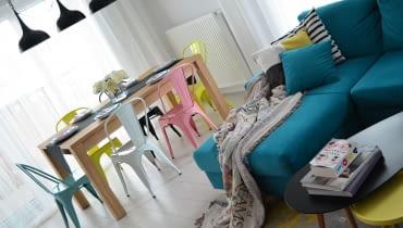 Pastelowe mieszkanie w Szczecinie