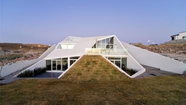 dom, architektura, dom ukryty, dom jednorodzinny