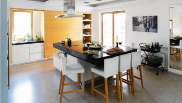wyspa kuchenna, meble kuchenne, kuchnia