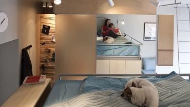 małe mieszkanie, kawalerka, jak urządzić kawalerkę, rozwiązania do małych mieszkań, jak urządzić małe mieszkanie, nowoczesna kawalerka