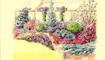 Rabata szaro- fioletowa