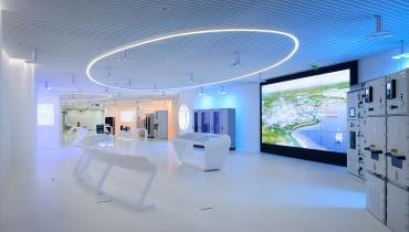 Futurystyczna przestrzeń w Bielsku-Białej