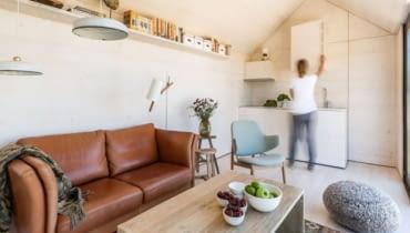 betonowy dom, dom z betonu, design
