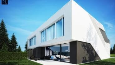Projekt domu w zabudowie bliźniaczej na warszawskim Wawrze