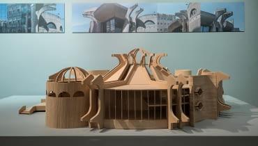 Wystawa 'Skopje. Miasto, architektura, sztuka i solidarność' w Międzynarodowym Centrum Kultury.