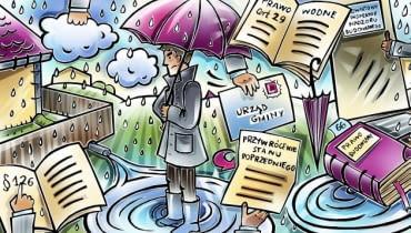 Sposób usuwania wód opadowych na działkach budowlanych jest określony przez prawo, a dokładnie przez warunki techniczne jakim powinny odpowiadać budynki i ich usytuowanie