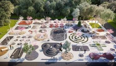 Projekt nowego placu w Chorzowie