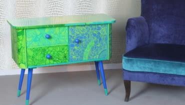Polski projekt: ręcznie malowane meble od Art PoPo