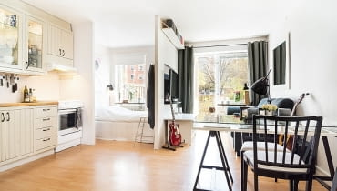 kawalerka, wygodna kawalerka, małe mieszkanie, jak urządzić mieszkanie, jak urządzić kawalerkę?, jak urządzić małe mieszkanie