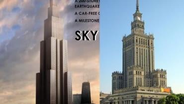 Sky City One. Najwyższy wieżowiec świata powstanie w Chinach? [projekt]