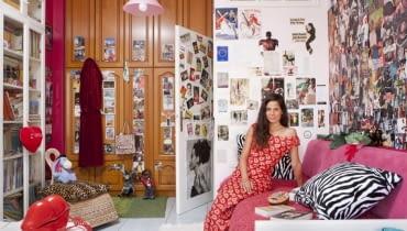 sypialnie kobiece, projekt fotograficzny