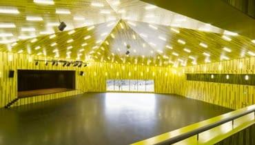sala koncertowa, szwajcaria, elewacja, miedź