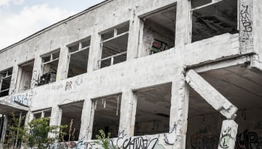 Budynek koszar raczej długo jeszcze nie postoi
