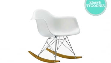 RAR; projekt: Ray i Charles Eames, Vitra, fotel na biegunach