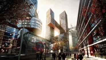 Skrzyżowane Wieże w Seulu, BIG-Bjarke Ingels Group