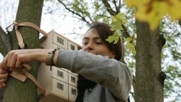 Blokowisko Lęgowe - instalacja projektu studia Zupagrafika