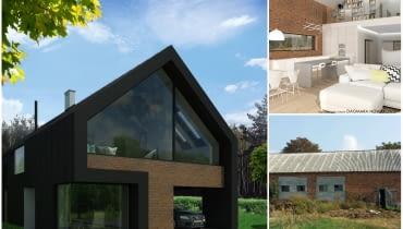 Projekt adaptacji starej stodoły na dom jednorodzinny