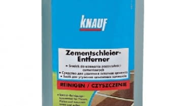 Środek do usuwania pozostałości cementowych, producent: Knauf Bauprodukte