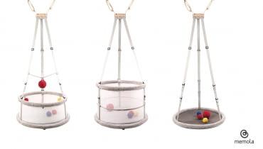 Innowacyjna kołyska dla dzieci Memola od polskiej projektantki
