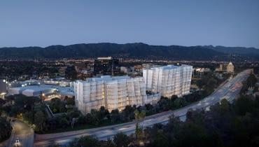 Nowe budynki Warner Bros. Proj. Frank Gehry.