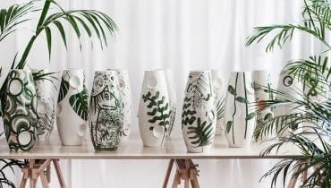 Must have: kolekcja wazonów Jungle 2016, projekt: Malwina Konopacka, producent: Malwina Konopacka