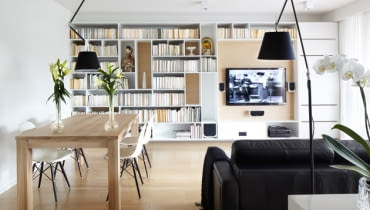 telewizor, salon, urządzanie pokoju, jak powiesić tv, jak powiesić telewizor