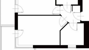 Projektowanie wnętrz. 41,2 m kw. dwupokojowe dla 2 osób