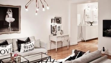 mieszkanie w skandynawskim stylu, jak urządzić eleganckie mieszkanie, mieszkanie, pomysły na urządzanie wnętrz